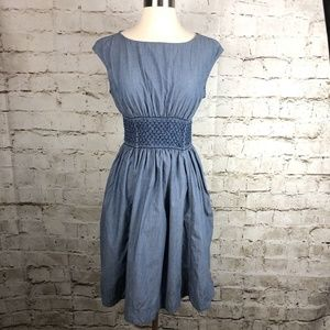 Kate Spade Chambray Blaire Dress Easy Fit & Flare